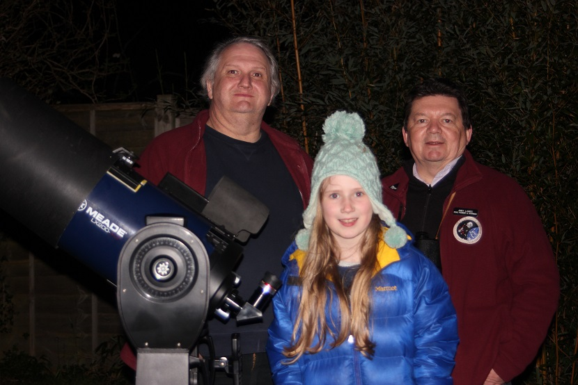 Bluebell enjoying her Star Party